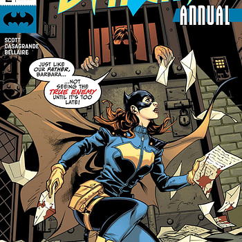 Batgirl Annual #2 cover by Emanuela Lupacchino and Dave Stewart