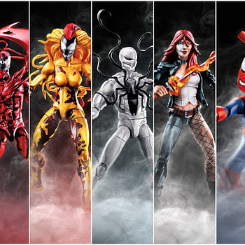Marvel Legends Venom Wave Collage