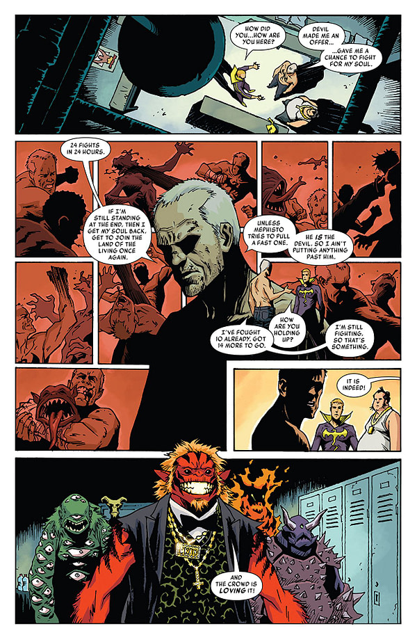 Iron Fist #79 art by Damian Couceiro and Andy Troy
