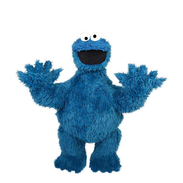 Sesame Street Collectors: Own a Life Size Cookie Monster Thanks to Haslab