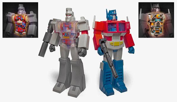 Super7 Deluxe Transformers Figures