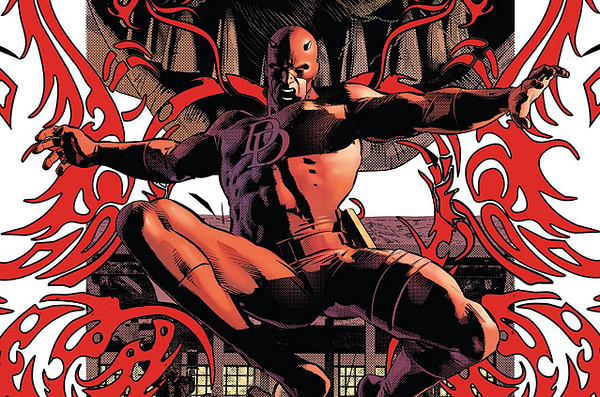 Daredevil #28 cover by Mike Deodato Jr.