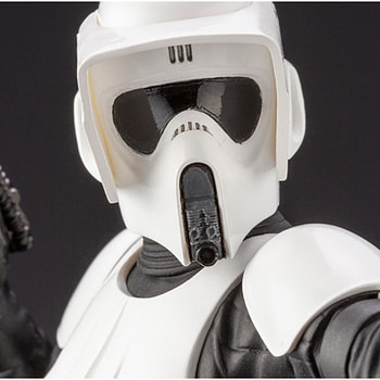 Star Wars Scout Trooper is on Patrol with New Statue from Kotobukiya