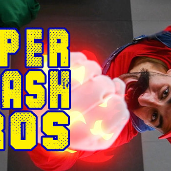 SUPER SMASH BROS - Stunt Tribute!