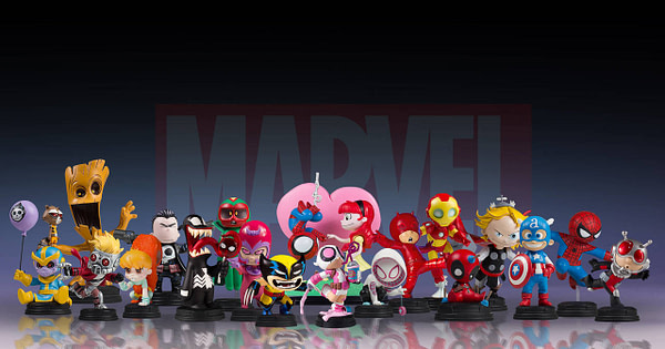 Marvel Animated Statue Line