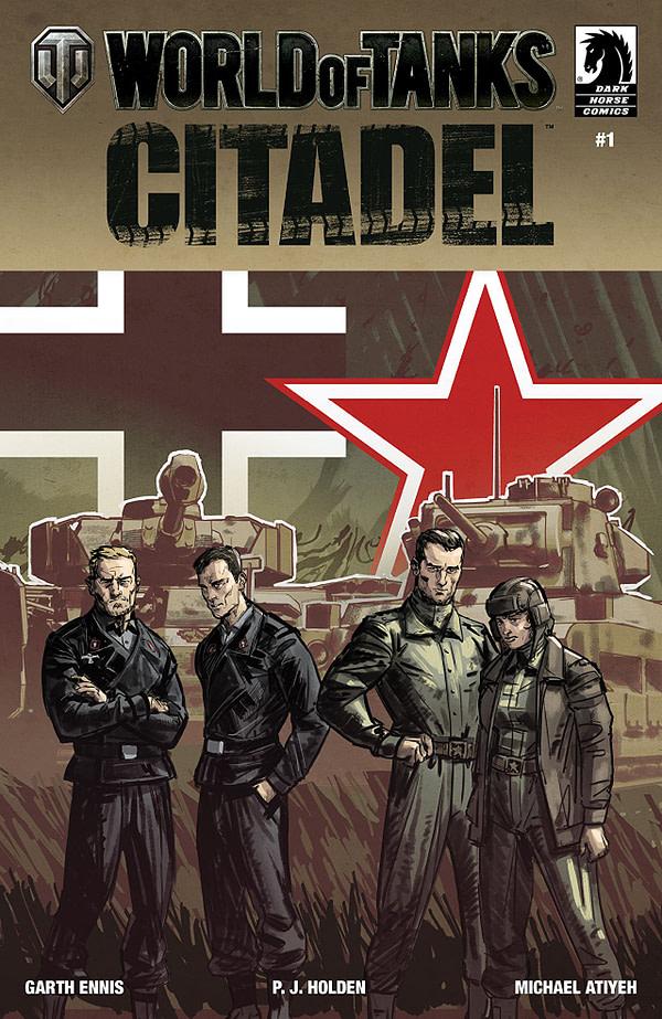 World of Tanks: Citadel #1 cover by Isaac Hannaford