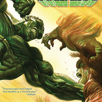 Immortal Hulk #5 cover by Alex Ross