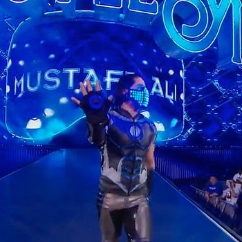 Mustafa Ali wrestlemania 34