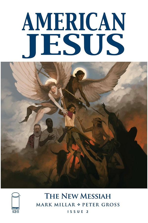 Mark Millar, Currently Writing American Jesus Vol 3