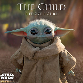 Sideshow Collectibles Reveals Life Size Baby Yoda, Crashes Site