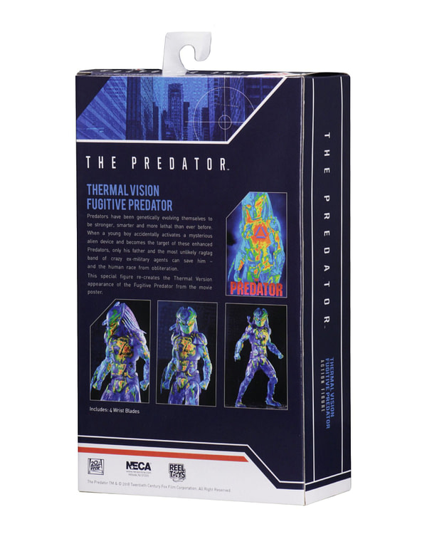 NECA Thermal Predator Figure Target Exclusive 3