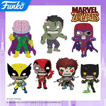 Funko Pop New York Toy Fair 2020 Reveals - Marvel Zombies