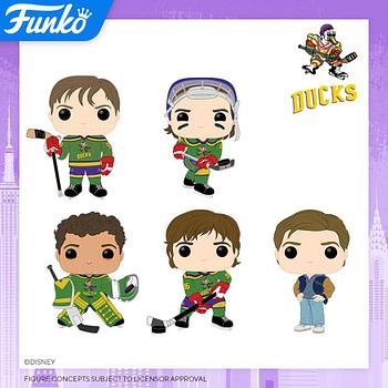 "Funko Pop New York Toy Fair 2020 Reveals - ""The Mighty Ducks"""