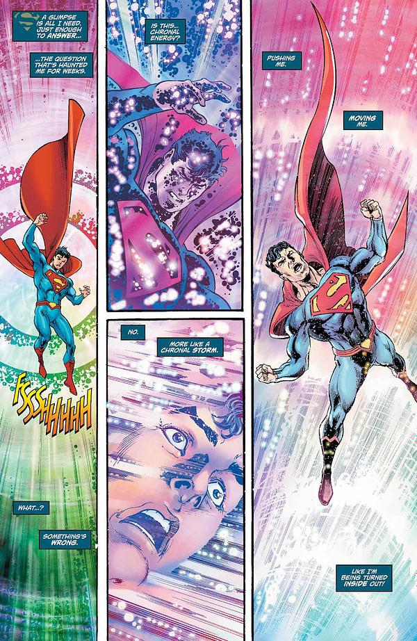 Action Comics #993 art by Dan Jurgens, Joe Prado, Cam Smith, and Hi-Fi