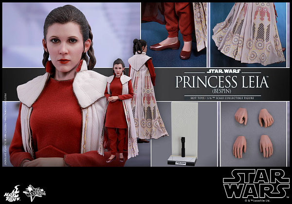 Hot Toys Bespin Gown Princess Leia 18