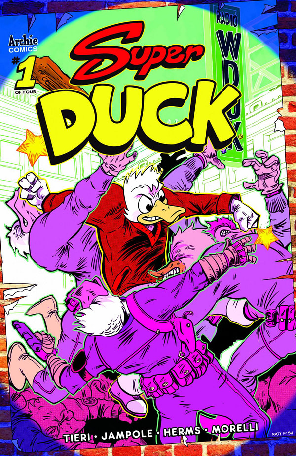Archie Comics Launches Super Duck - For Grown Ups - in March 2020 Solicitations