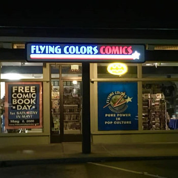 flying colors comics photo
