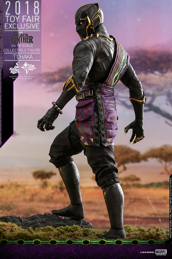 Hot Toys T'Chaka Black Panther 3