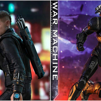 Hot Toys Reveals Hawkeye/Ronin and War Machine Avengers: Endgame Figures