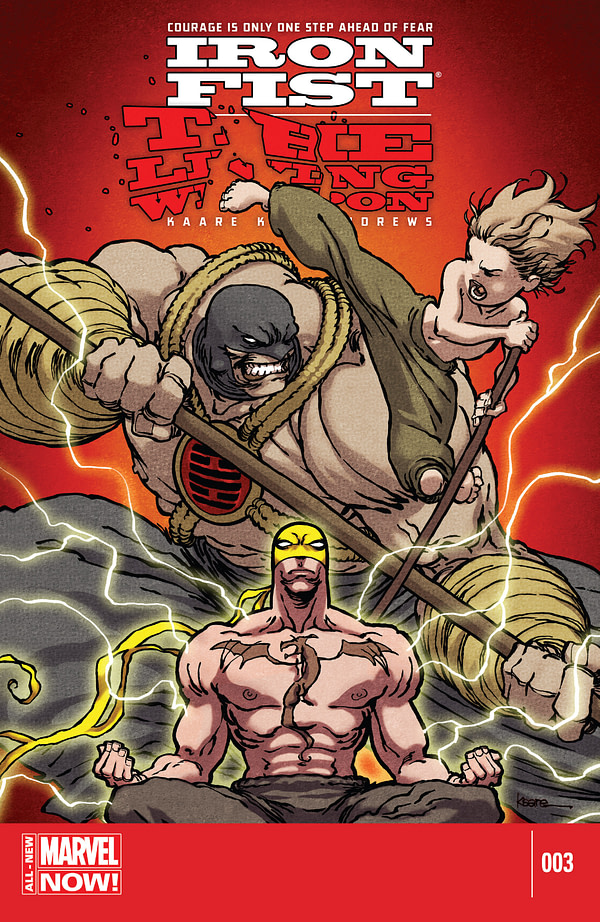 Iron Fist - The Living Weapon 3 Cover
