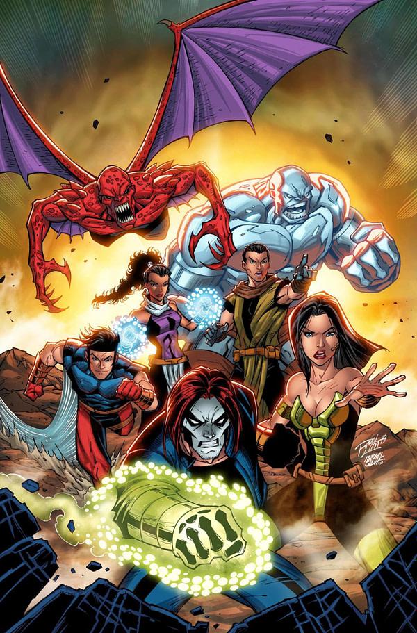 Marvel Shows Off Their 2099 Variants for November
