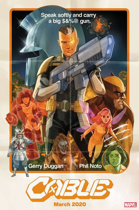 Marvel Comics Highlight Child Soldiers With New Cable Series by Gerry Duggan and Phil Noto in March 2020