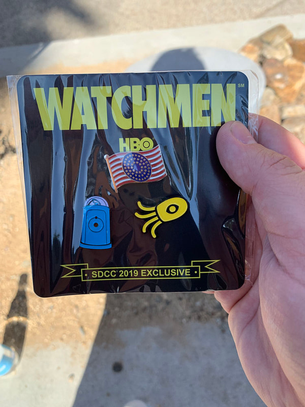 """Watchmen"": Watch Us Turn Into Doctor Manhattan at SDCC"