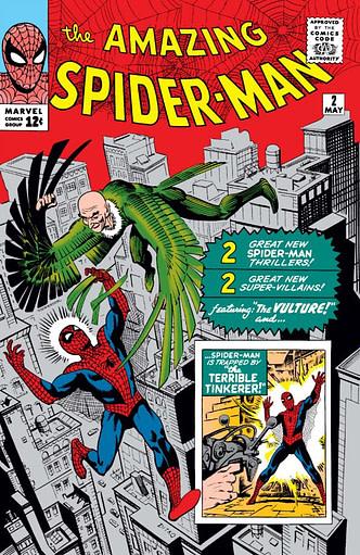 Amazing Spider-Man #2, Marvel Comics, Vulture