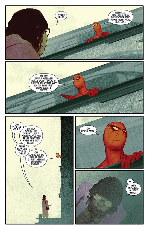 Doctor Strange #390 art by Frazer Irving
