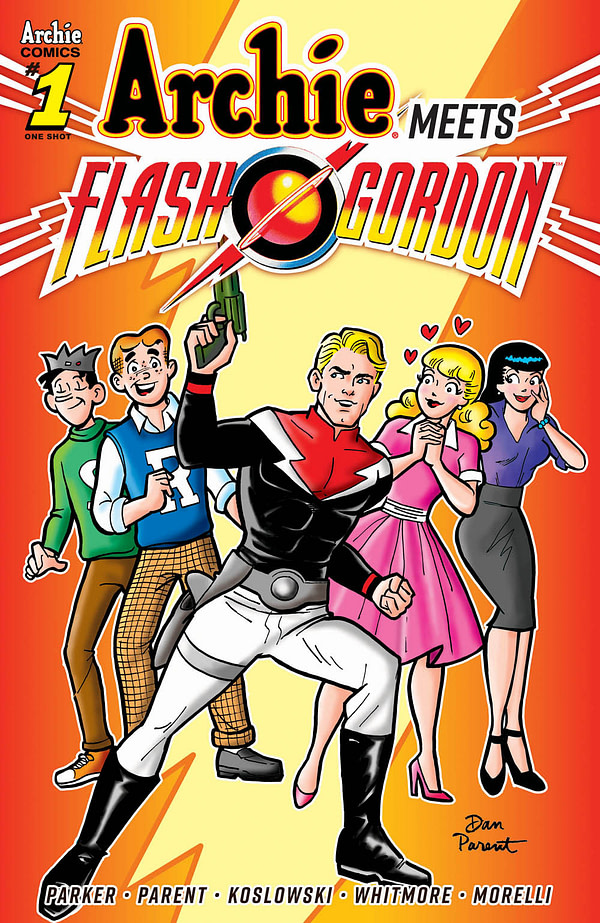 Archie Meets Flash Gordon in June, by Jeff Parker and Dan Parent