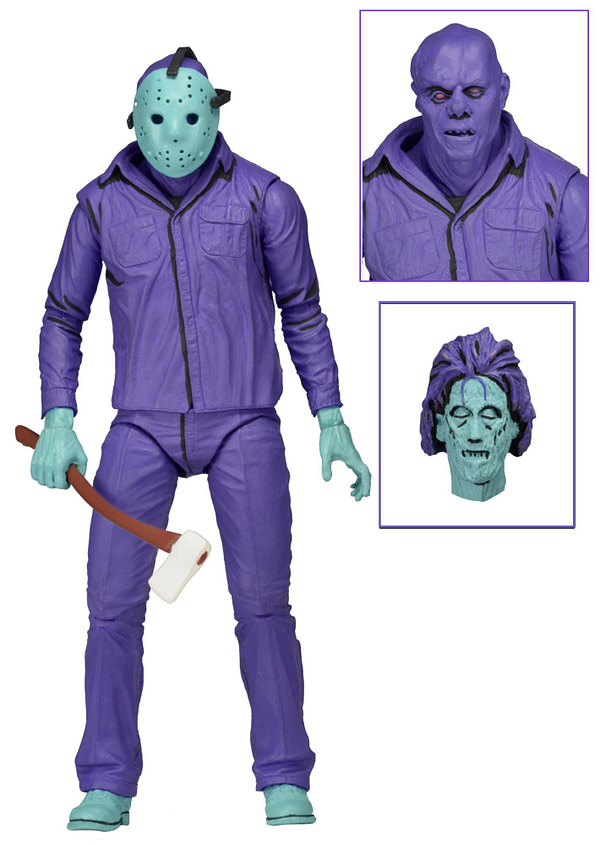NECA Jason Vorhees Video Game Figure Gamestp