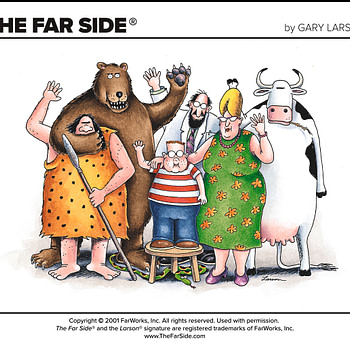 Gary Larson's The Far Side Returns... Sort Of