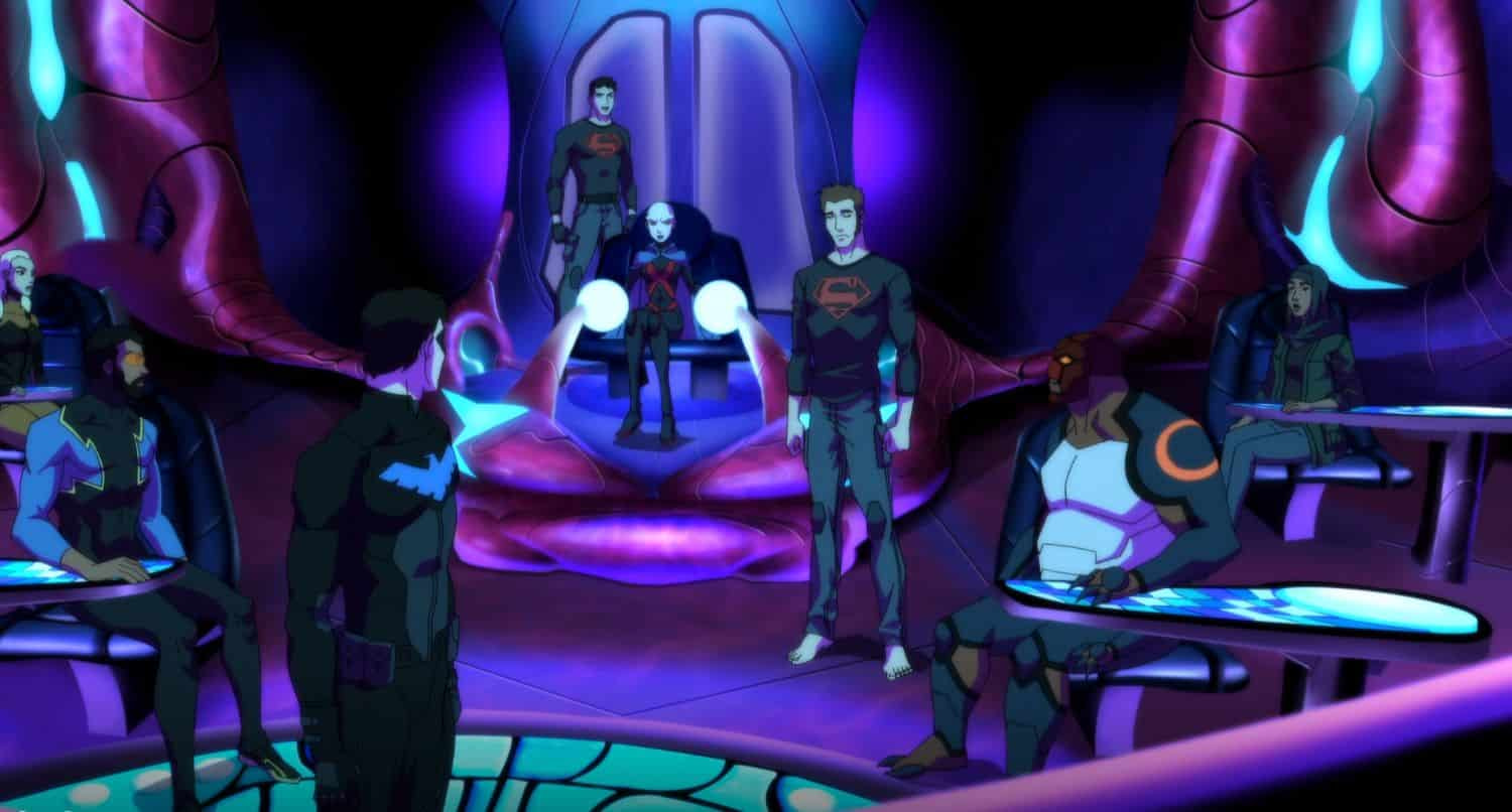 young justice outsiders rescue recap