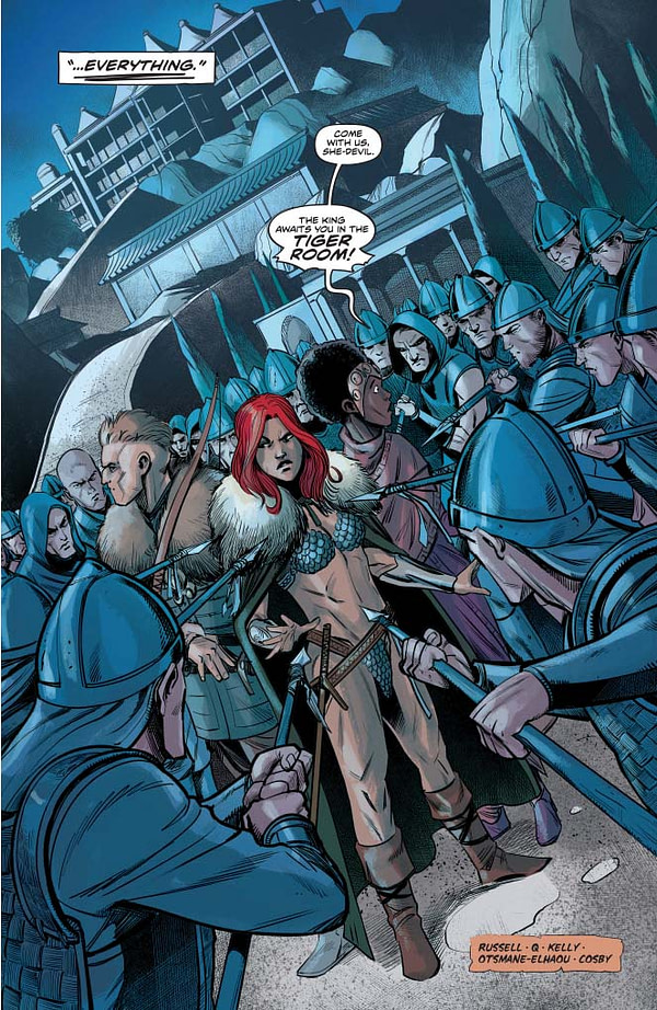 Red Sonja #14 Extended Preview