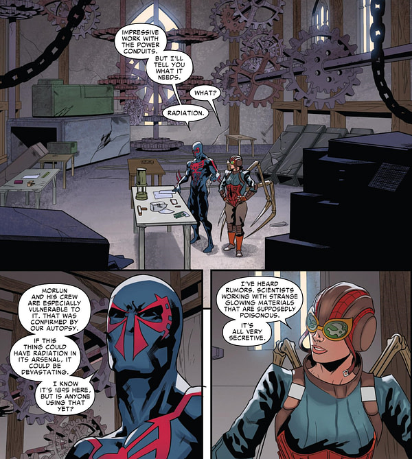 Spider-Man 2099 #8 (2015) - Page 9