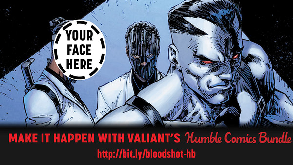How Much Would You Pay to Be Drawn Into a Bloodshot Comic?