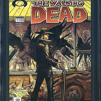 Comic Connect Walking Dead #1 CGC