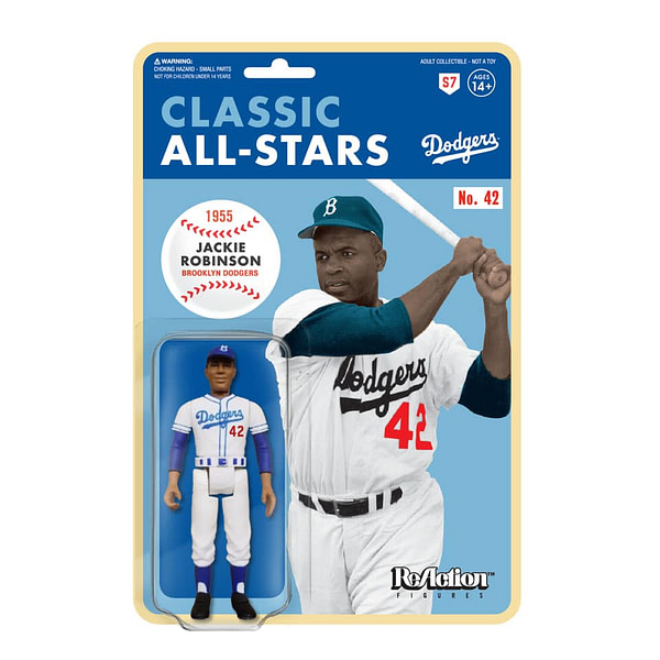 Super7 ReAction MLB Jackie Robinson