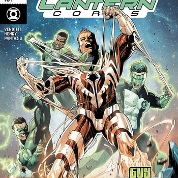 Hal Jordan and the Green Lantern Corps #46 cover by Stephen Segovia and Romulo Fajardo Jr.