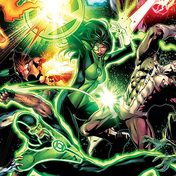 Green Lanterns #43 cover by Will Conrad and Ivan Nunes