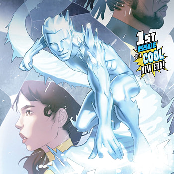 Iceman #1 cover by W. Scott Forbes