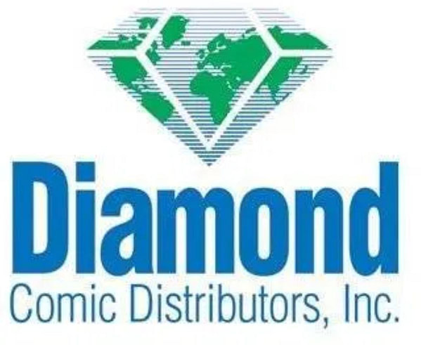 Diamond Comic Distributors logo.