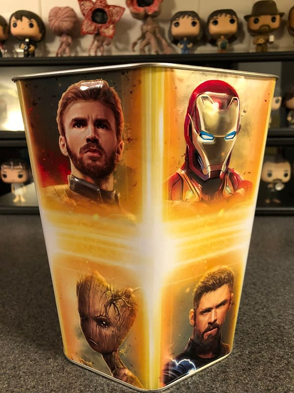 Avengers: Infinity War Cinemark Popcorn Tin 2