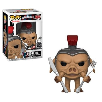 Funko Mighty Morphin Power Rangers Pudgy Pig Pop