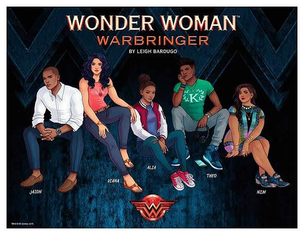Preview of Leigh Bardugo, Louise Simonson and Kit Seaton's Wonder Woman: Warbringer