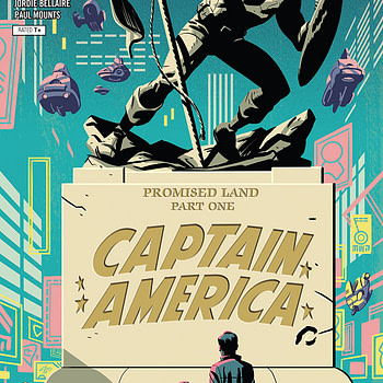 Captain America #701 cover by Michael Cho