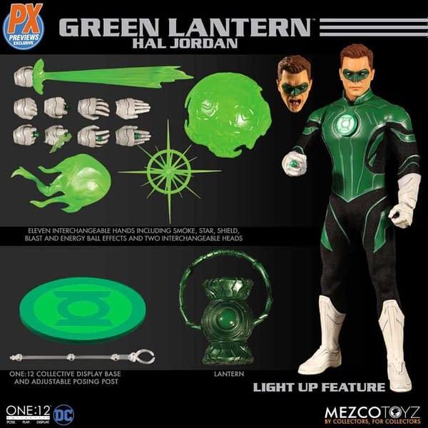 One 12 Collective Previews Exclusive Green Lantern Hal Jordan 8