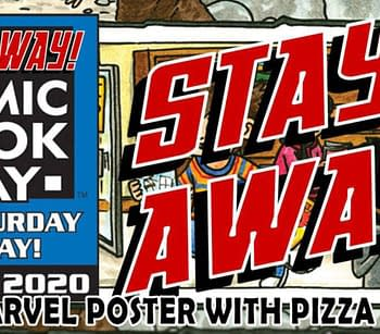 Pick Up Your Comics With Your Pizza, And Stay Away Comic Book Day.