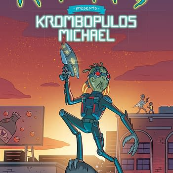 Rick and Morty Presents Krombopulous Michael #1 cover by CJ Cannon
