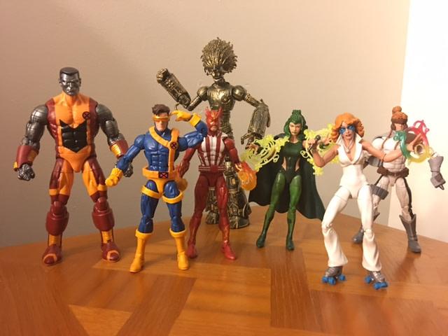 Marvel legends X-Men Wave 2
